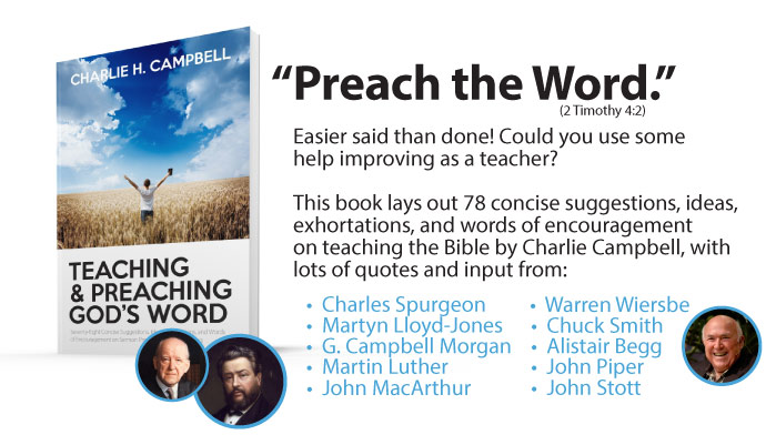 Teaching Preaching Book