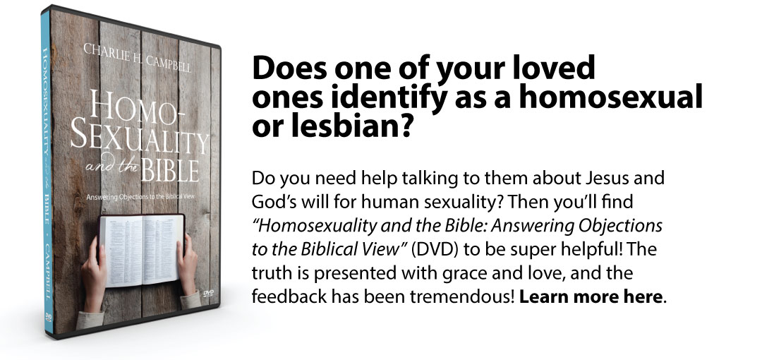 Homosexuality and the Bible DVD